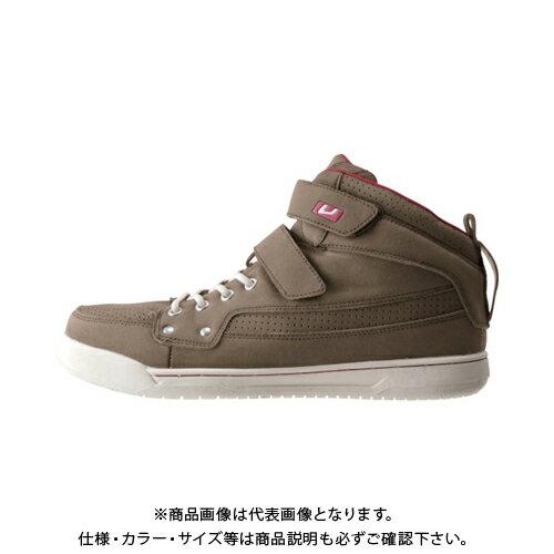バ-トル 作業靴 809-24-260 キャメル 809-24-260