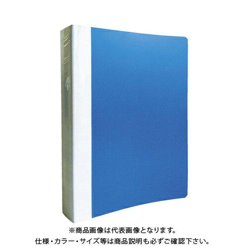 TRUSCO PP Oリングファイル A4タテ 35mm ブルー TOF435-B