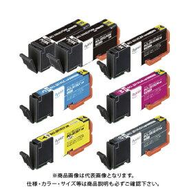 エレコム プレジール CANON 350351シリーズ6色+350BK1個セット PLE-C351XL6P+BK