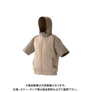 IRIS カジュアルクールウェア半袖セット(フード有り)M CCHS-M02-BE