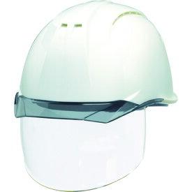 DIC 透明バイザーヘルメット(シールド面付) AP11EVO-CSW KP 白/スモーク AP11EVO-CSW-HA6-KP-W/S