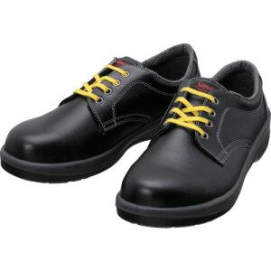 シモン 静電安全靴 短靴 7511黒静電靴 24.0cm 7511BKS-24.0