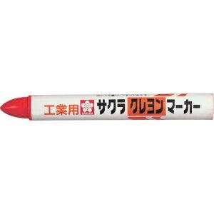 サクラ クレヨンマーカー 赤 10本 GHY19-R