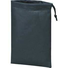 TRUSCO 不織布巾着袋 黒 420X330X100MM (10枚入) TNFD-10-M