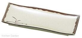 メラミン樹脂製 和食器 織部 角皿 小 OB-17