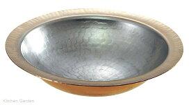 銅 1人用 うどんすき鍋 S-5000 20cm .[銅製]