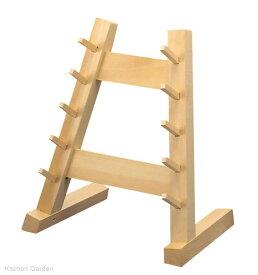 木製 庖丁掛け 5段