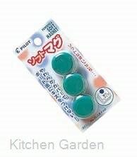 【部品商品】 チョークレスボード専用マグネットWBGS-P26-3P(3個入)緑