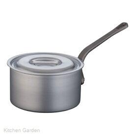 片手深型鍋アルミニウム(アルマイト加工) (目盛付)TKG 21cm .[アルマイト]