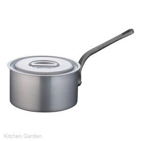 片手深型鍋アルミニウム(アルマイト加工) (目盛付)TKG 27cm .[アルマイト]