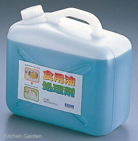 天ぷら油処理剤 油コックさん 5リットル (計量カップ付)