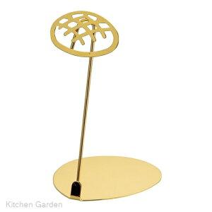 パン屋さんのPOPスタンド メロンパン 10cm ゴールド