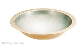 SA 銅製 うどんすき鍋(槌目入) 30cm .[銅製]