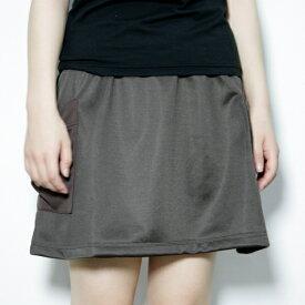 レディース オーバースカート 日本製 (重ね着にぴったりのオーバースカート ブラック 黒 ブラウン 茶 ギフト プレゼント 母の日)