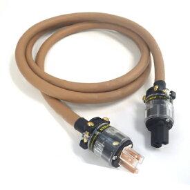Sir Tone PWC-11008 2m【3芯 電源ケーブル 5.5sq FURUTECH PS〈E〉認証 楽器用 音響機器 音質改善 茶】