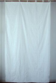 カーテン 間仕切り 北欧 つっぱり おしゃれ カントリー 花柄 レース 刺繍 刺しゅう ヴィグリーエンブロイダリー ヒュッゲ 綿100% コットン ホワイト 白 丈180cm 幅100cm