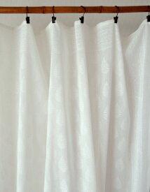 フリークロス 間仕切りカーテン 北欧 カントリー アジアン おしゃれ 花柄 綿100% インド綿 コットン スモールツリー 白 ホワイト テーブルクロス マルチカバー 幅110cm 丈180cm