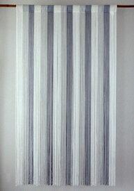 ストリングカーテン ひものれん ストリングのれん 紐のれん 北欧 ヒュッゲ 目隠し 安っぽくないお色厳選 グラデーション ホワイト 白 WH 丈150cm 幅85cm