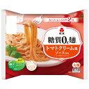 糖質0g麺 トマトクリーム風ソース付き 1ケース(6パック)    【低糖質麺 糖質0麺 糖質ゼロ麺 糖質オフ 糖質制限 食…