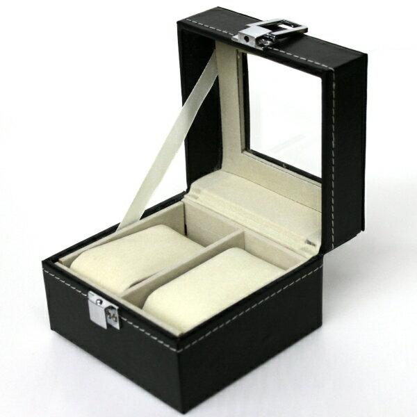 腕時計収納ケース2本用 ウォッチコレクション ボックス