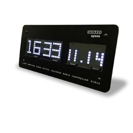 SLOWER スロウワー LEDクロック スターキー SLW097 ブラック Starkey アラーム付き電波時計