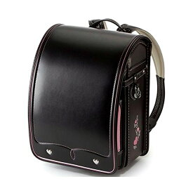 ランドセル 女の子 フェアリードール IYG-301 ブラック/ピンク 学習院型 池田地球 日本製