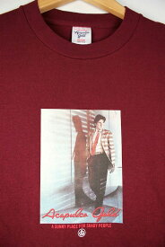 "ACAPULCO GOLD(アカプルコゴールド) / ""JUST A GIGOLO"" Tee (Tシャツ) / burgundy"