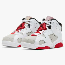 【割引クーポン発行中!!】Nike Air Jordan 6 Retro PS ナイキ エア ジョーダン 6 レトロ PS 384666-062 キッズ ベビーシューズ スニーカー 04EB-363025131069