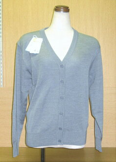 學校對襟毛衣羊毛混合男女兼用S~5L尺寸NIKKE nikkegure·深藍·黑色·象牙