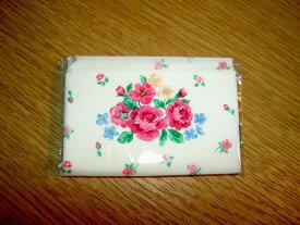【お子様の小さなポケットにぴったり♪】ミニティッシュ 10個セット かわいい花柄パッケージ 中身白無地【3セットまでメール便可】