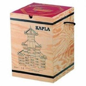 【正規輸入品】カプラ 280 KAPLA 280 白木 アートブック 中級 赤 セット