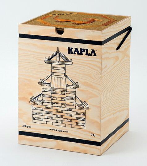 【正規輸入品】カプラ 280 KAPLA 280 白木 アートブック初級 茶 セット