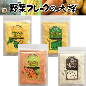 離乳食ベビーフード裏ごし野菜フレーク Sサイズ 北海道大望 とうもろこし かぼちゃ じゃがいも にんじん 乾燥ベビーフード出産祝い