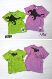 【SALE】fo7338 スピノザウルスTシャツ 80-140cm/緑,紫[F.O.KIDS/FOKIDS/エフオーキッズ][F.O.International/エフオーインターナショナル]【RCP】