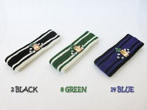 【SALE】≪ゴートゥーハリウッド≫GTH020 / S,M size / 黒,緑,青パイナップルパイルヘアバンド[小物][GO TO HOLLYWOOD/G2H]【RCP】