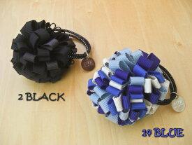 【SALE】≪フィス≫FITH004 / FREE / 黒,青リボンフラワーゴム[小物]【RCP】