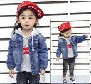 ジージャン 子ども服 女の子 男の子 デニムジャケット 韓国子供服 男の子 キッズ 上着 コート トップス ブラウス ジャ…