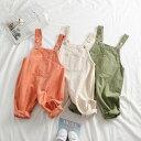 オーバーオール 子供服 サロペット 女の子 男の子 キッズ ベビー オールインワン 仮装 ミニオンコーデ シンプル パン…