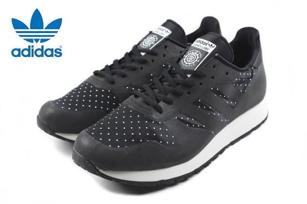 アディダス adidas CNTR WELD 84-Lab. ケンタウル ウェルド ハチヨンラボ ブラック/ブラック/ライトボーン D65283