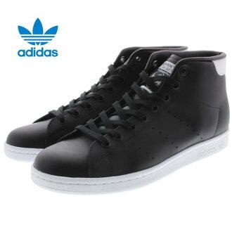 10%OFF阿迪达斯adidas Stan Smith中间STAN SMITH MID核心黑色/核心黑色/FTW白S75027