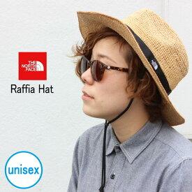 定番 ノースフェイス THE NORTH FACE 帽子 ラフィア ハット RAFFIA HAT ナチュラルベージュ NN01554 NB 男女兼用