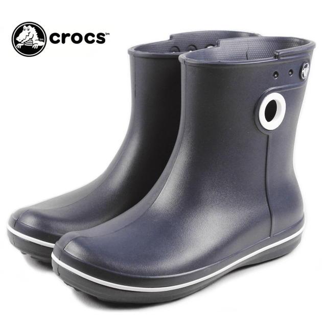 【ポイント10倍】crocs クロックス jaunt shorty boot w ジョーント ショーティー ブーツ ウィメン ネイビー 15769-410