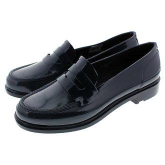 猎人HUNTER鞋原始物便士低毛皮ORIGINAL PENNY LOAFER深蓝WFF1006RGL-NVY