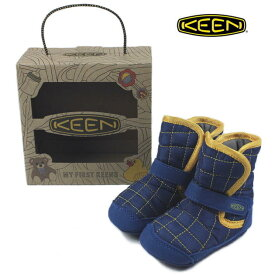 子供 キーン KEEN Rover Crib ローバー クリブ エステートブルー/キーンイエロー 1013983