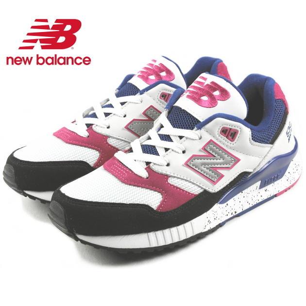 【ポイント10倍】ニューバランス New balance W530 ホワイト/ピンク PSA