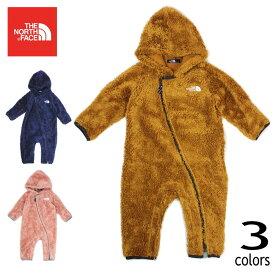【エントリーで最大ポイント6倍】子供服 ノースフェイス THE NORTH FACE ベビー シェルパ フリース スーツ B Sherpa Fleece Suit NAB72049 ティンバータン(TM) TNFネイビー(NY) ピンククレイ(PC) [WA]【GOOM】