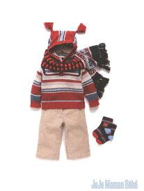 50% フード付きケーブルニット 男の子 女の子 ジョジョママンベベ JoJo Maman Bebe (2〜5歳)B5535 子供服 キッズ ベビー ジュニア[コンビニ受取]