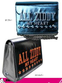 ジディー ZIDDY 女の子 クラッチバッグ 40%OFF SALE ロゴ刺繍 メタリック合皮 チェーンバッグ(F) 子供服 キッズ ジュニア 1234-725595