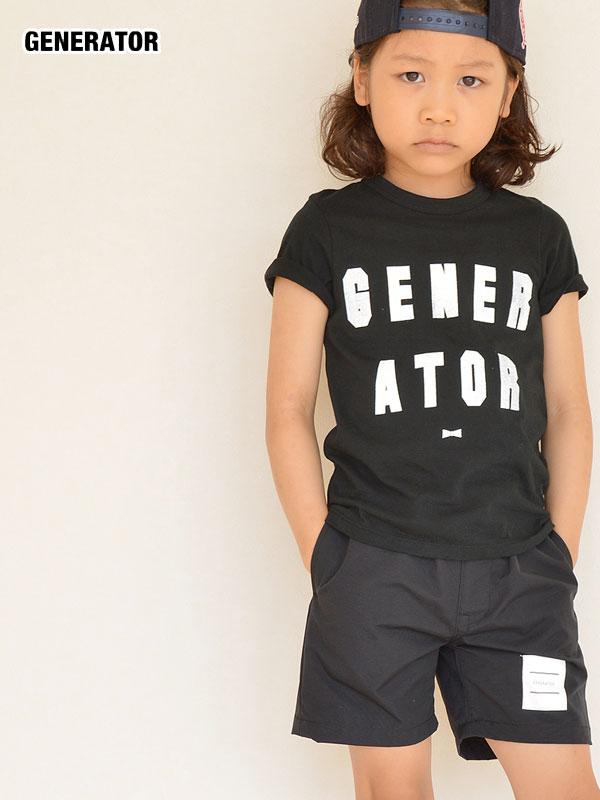 ジェネレーター スーツ GENERATOR ジェネレーター スーツ ロゴTシャツ(130-140)051422 ノベ対象 セール対象外 子供服 キッズ ベビー ジュニア