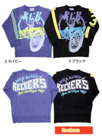 レッカーズ Reckers 男の子 ワイルドライダー トレーナー 100cm 110cm 46131[60%] 子供服 キッズ ベビー ジュニア